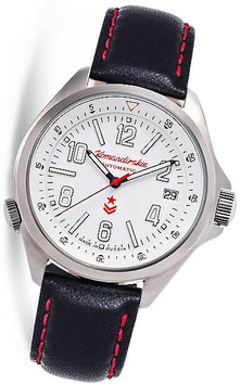 "Russian automatic watch ""KOMANDIRSKIE K-34"" by VOSTOK, 100m water proof, stainless steel, ø42mm"