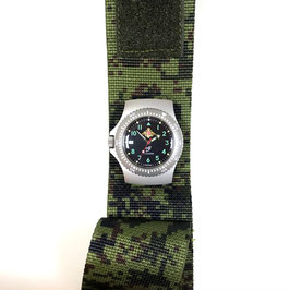 Russian automatic watch RATNIK 6E4-2, AMNCh-3 for the Russian Army  by VOSTOK-Design, matt finished, ø41mm