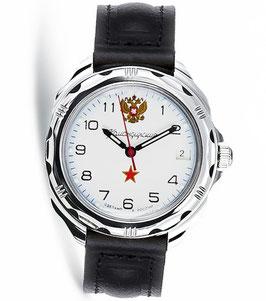 """Armbanduhr KOMANDIRSKIE """"RUSSIA"""" von VOSTOK, poliert, ø39mm"""