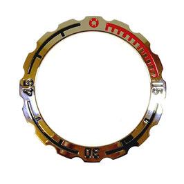 Lünette für VOSTOK AMPHIBIA Uhren von VOSTOK, Edelstahl, poliert