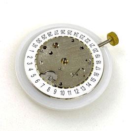 """2416 Automatikwerk mit Kalender von VOSTOK (mit weißem Kalender in Pos.""""6:00"""")"""