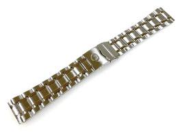 22mm originales 3-reihiges Edelstahlarmband von VOSTOK für AMPHIBIA und KOMANDIRSKIE Uhren ARM-ST06-22mm