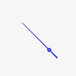 Blauer Sekundenzeiger VOSTOK KOMANDIRSKIE Uhren mit einem 24-er Werk SEK18