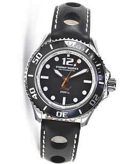 "Automatik wrist watch ""AMFIBIA REEF"" by VOSTOK, 200m water proof, stainless steel, polished, ø42mm"