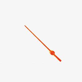 Orange second hand for VOSTOK KOMANDIRSKIE watches with movement of 24 series
