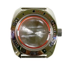 Gehäuse 710 für VOSTOK AMPHIBIA Uhren von VOSTOK, Edelstahl, poliert, komplett