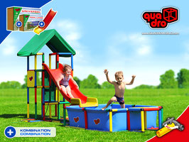 QUADRO UNIVERSAL & MODULAR SLIDE & POOL LARGE
