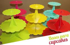 Base de 3 Pisos p/ Cupcakes