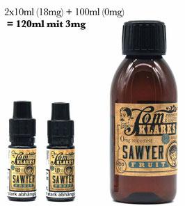 """Tom Klark´s """"Sawyer Frucht"""" 120ml / 3mg Shotfill"""