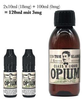 """Tom Klark´s """"Opium"""" 120ml / 3mg Shotfill"""