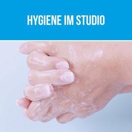 Hygiene im Studio - Corona update!