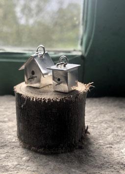 Tiny birdhouse charm
