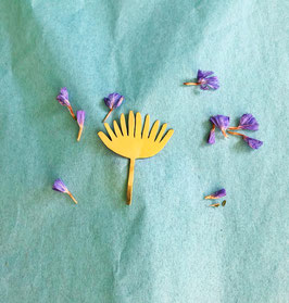 """Flower brooch """"Claire"""""""