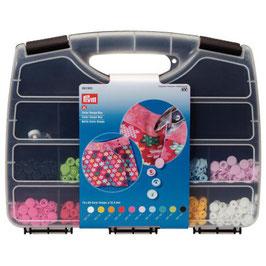 393900 Prym valise pressions plastique multicolores