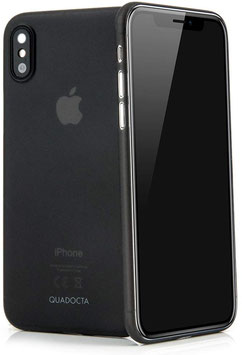 Angusta iPhone X/XS in Schwarz