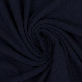BENE Strickstoff Feinstrick dunkelblau uni (Meterware)
