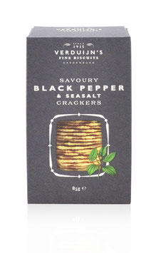 Cracker mit schwarzem Pfeffer & Meersalz 75g