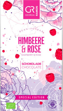 HIMBEERE & ROSE - Helle Schokolade - BIO von Georgia Ramon