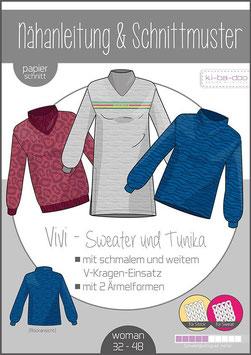 Vivi Sweater / Tunika von kibadoo