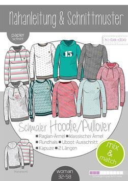 Schmaler Hoodie / Pullover von kibadoo