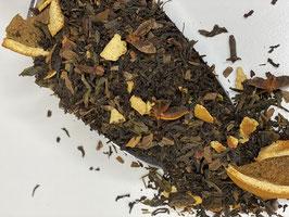 LEBKUCHEN - aromatisierte Schwarz- und Grünteemischung
