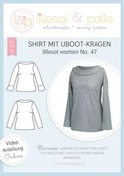 Shirt mit UBoot-Kragen lillesol women No.47