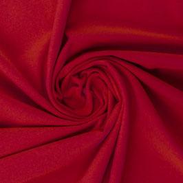 Jersey Vanessa burgundy rot uni Baumwolljersey Meterware