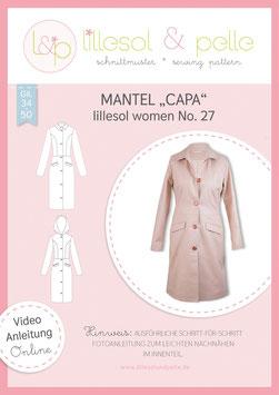 Mantel Capa lillesol women No.27