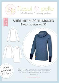 Shirt mit Kuschelkragen lillesol women No.32