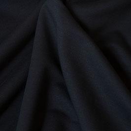 Viskose-Sweat Hana uni dunkelblau (Meterware)