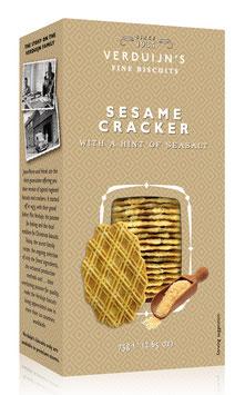 Cracker mit Sesam & Meersalz 75g