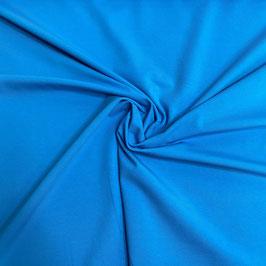 Jersey Vanessa blau 842 uni Baumwolljersey (Meterware)