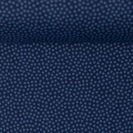 DOTTY Baumwolle blau (Meterware) 596