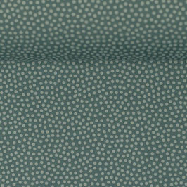 DOTTY Baumwolle smaragd (Meterware) 267