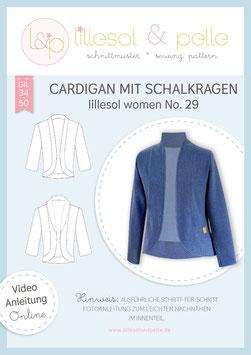 Cardigan mit Schalkragen lillesol women No.29