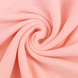 BENE Strickstoff Feinstrick rosa / rosé uni (Meterware)