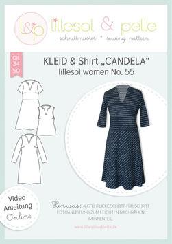 Kleid & Shirt Candela lillesol women No.55