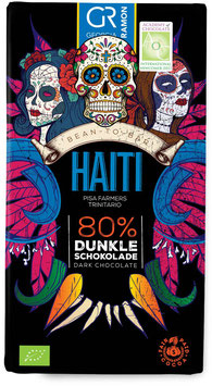 HAITI - 80% Dunkle Schokolade - VEGAN - BIO von Georgia Ramon