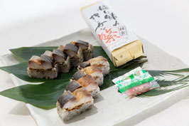焙り鯖の押し寿司