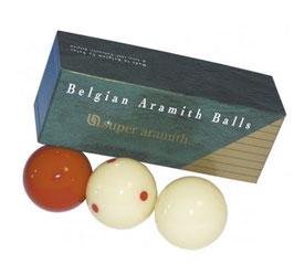 Balls - Super Aramith Red Dots