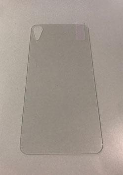Verre de protection arrière pour iPhone XR de couleur transparente