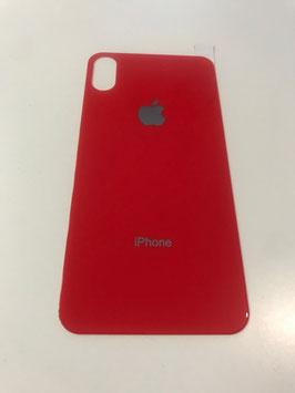 Verre de protection arrière pour iPhone X et XS