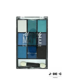 Palette Ombres à Paupières • Nuances Bleues / Blue