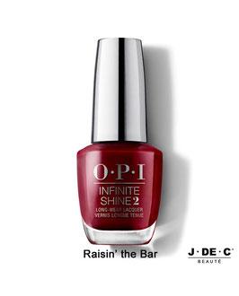Vernis à Ongles OPI Infinite Shine • Raisin' The Bar