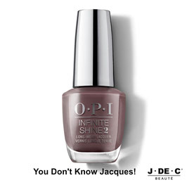 You Don't Know Jacques! • OPI Infinite Shine