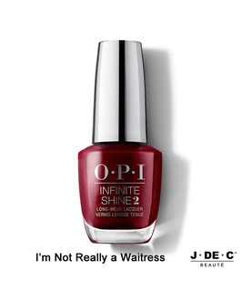 Vernis à Ongles OPI Infinite Shine • I'm Not Really a Waitress