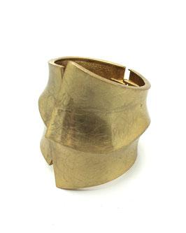 Bracelet Relief Manchette Doré