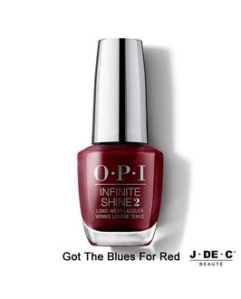 Vernis à Ongles OPI Infinite Shine • Got the Blues For Red