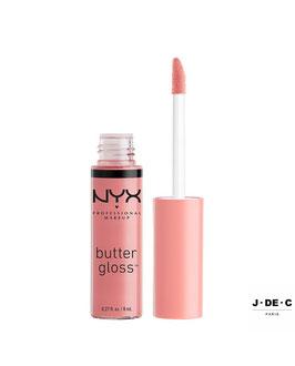 NYX PROFESSIONAL • Butter Gloss - Crème Brûlée