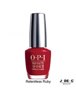 Vernis à Ongles OPI Infinite Shine 2 • Relentless Ruby